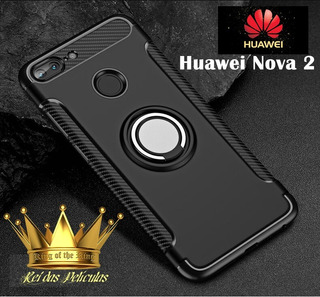Capa Huawei Nova 2 Capinha Anel Magnético Case Nova 2