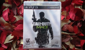 Call Of Duty Modern Warfare 3 Mídia Física Ps3 Frete 11,98
