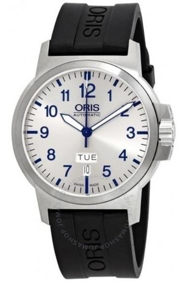 Relógio Suíço Oris Bc3 Advanced Automatico Prata/borracha