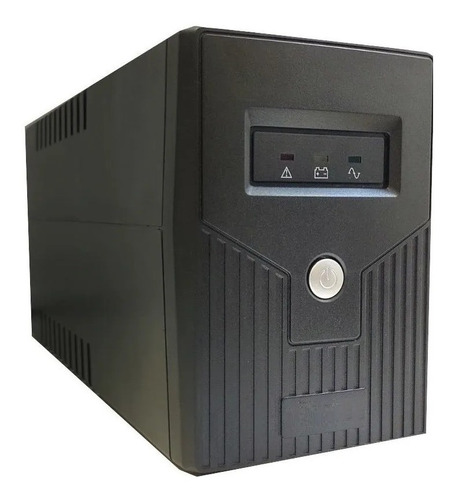 Ups Dlux 600va Estabilizador Proteccion Leds Batería 12v 7ah