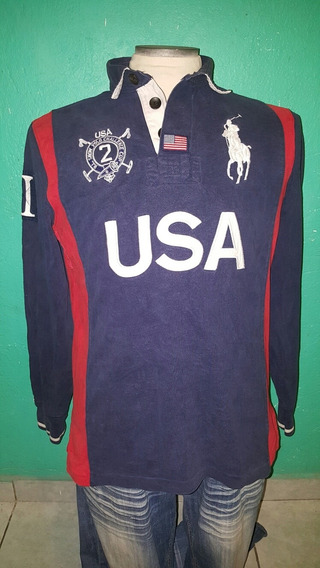 Playera Polo Ralph Lauren Big Pony Team Usa(no Lacoste,dolce