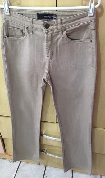 Diferenciada E Linda Calça Jeans Le Lis Blanc