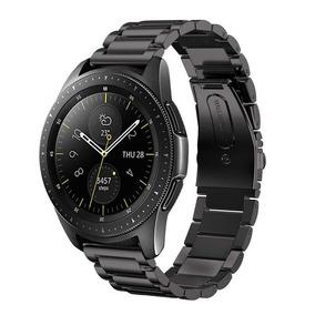 Pulseira Samsung Galaxy Watch 42mm Aço Inox Metal + Película
