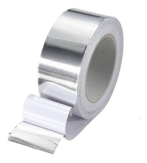 Fita Térmica Alumínio Alta Temperatura 30mm Rolo 30mts