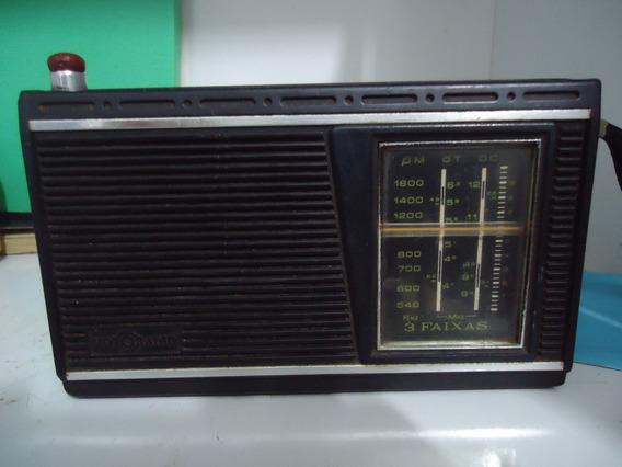 Radio Antigo Motoradio De 3 Faixas Funcionando