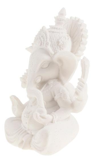 Estatua De Ganesh De Piedra Arenisca Elefante De Dios