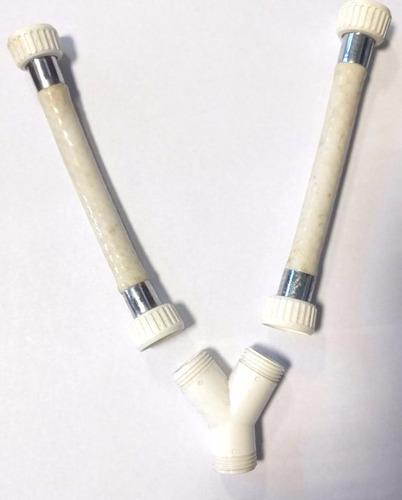 Imagen 1 de 6 de Derivacion En Y Rosca De 1/2 Canilla Siroflex