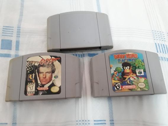Jogos Fitas Nintendo 64