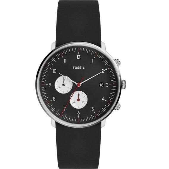 Relógio Fossil Chase Masculino Prata - Fs5484/1pn
