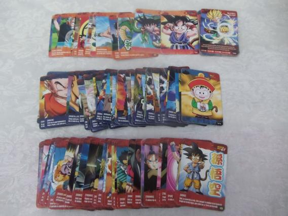Lote De 120 Tarjetas Imagics Dragon Ball Trilogía