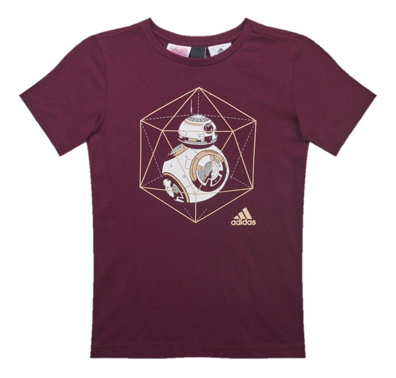 Playera adidas Star Wars Bb-8 S96896 Original Infantil