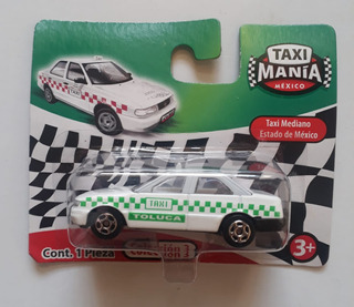 Taxi Mania Mexico Nissan Tsuru Toluca 1/64