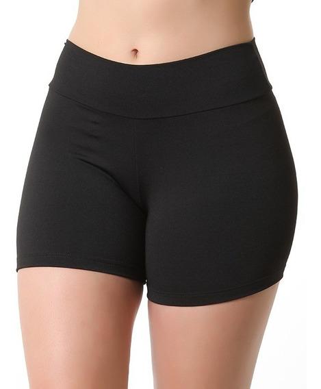 Kit 3 Short Suplex Academia Fitness Feminino Curto Moda 9813
