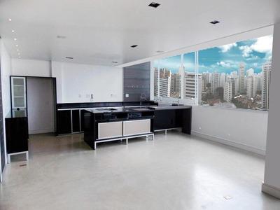 Cobertura Com 2 Suítes Para Alugar, 110 M² Por R$ 6.600/mês - Paraíso - São Paulo/sp - Co0395