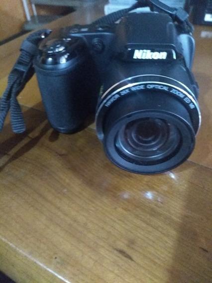 Camera Nikon Coolpix L810 Tela Lcd, Zoom De 26x ,