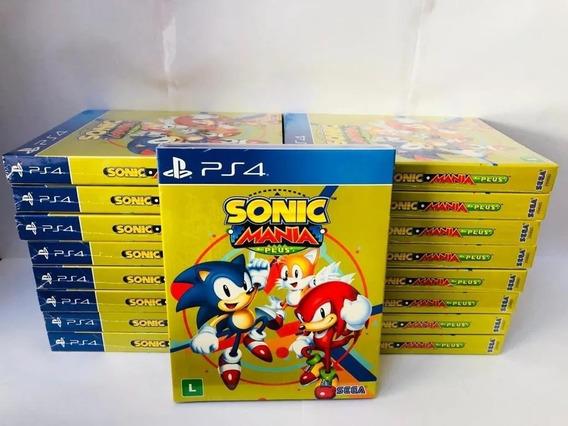 Sonic Mania Plus Ps4 Mídia Física Lacrado Promoção