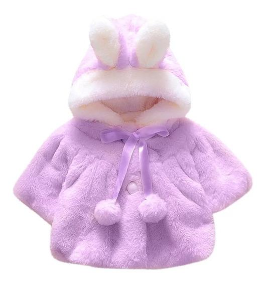 Lindo Abrigo Sueter Para Bebe Niña Invierno Frio.