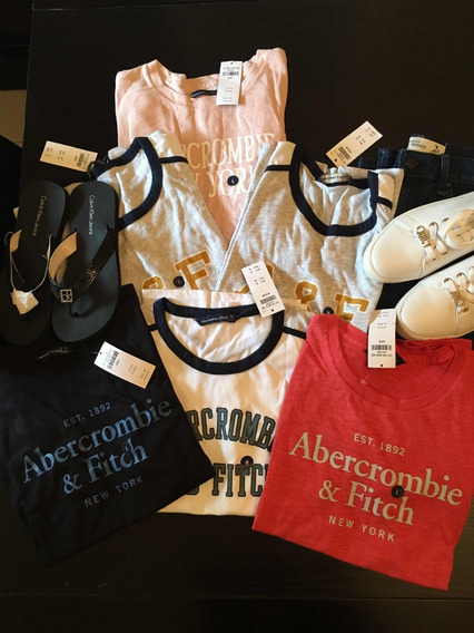 Remera Abercrombie Hollister Mujer 9978