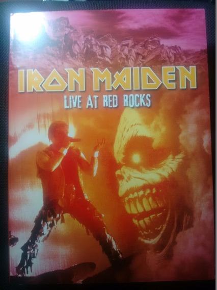 Iron Maiden Live Red Rocks Dvd Digipack Importado Usado Raro