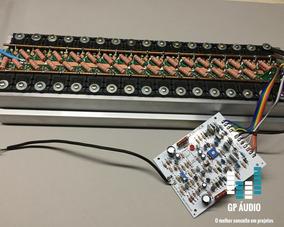 Placa De Amplificador De 4000w Rms Com Dissipador De Calor