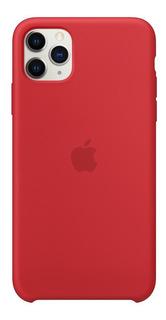 Capa Capinha Silicone C/ Logo Apple iPhone 11 / Pro / Max