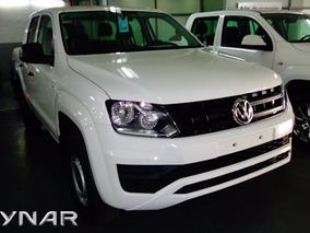 Volkswagen Amarok Tremdline 4x2 Adjudicada 2018 0 Km Blanca