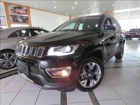 Jeep Compass Limited 2.0 16v Flex 2018/ok Preta