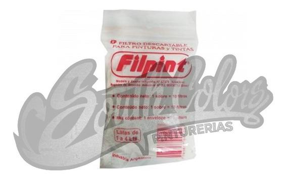 Filpint Filtro Descartable Para Pintura X 5 Unidades