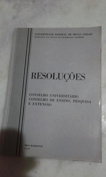 Resoluções-conselho Universitário Conselho De Ensino , Pesqu