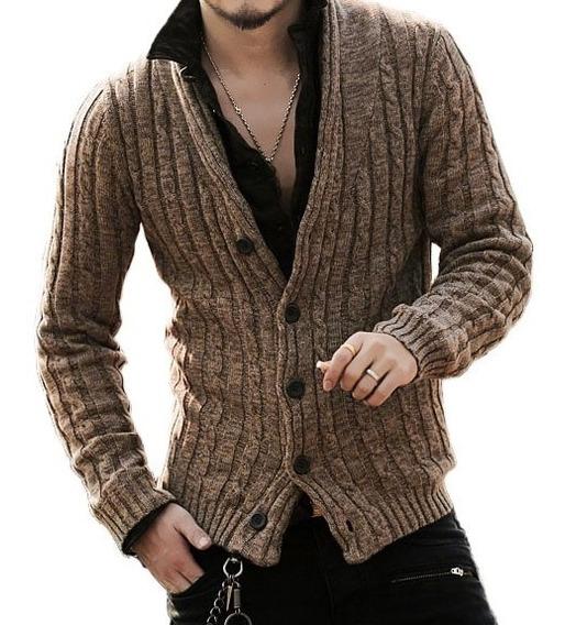 Cardigan / Sweater / Chaleco Hombre Slimfit