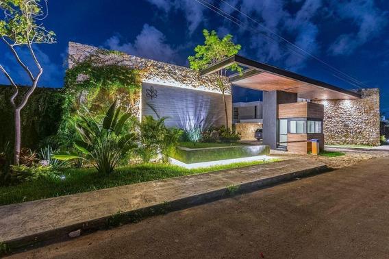 Casa - Privada Simaruba En Temozón Norte Con Dormitorio En La Planta Lata, Piscina, Y Demás Amenidades, Al Norte De Mérida, Yuc., Méx.