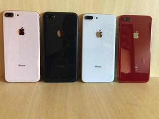 Chassi Aro Carcaça iPhone 8 Plus Apple Preto Branco Rose