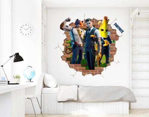 Adesivo Decorativo Buraco Falso Fortnite Midas - 71x68cm