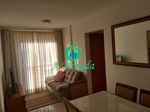 Imagem 1 de 13 de Apartamento Em Condomínio Com 2 Quartos À Venda Em Santo André - Ap03024 - 69266735