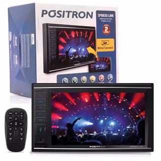 Central Multimídia Dvd Pósitron Sp8830 Link Tv Bluetooth