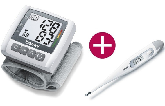 Baumanometro De Muñeca Bc30 + Terrmometro Y Envió Gratis