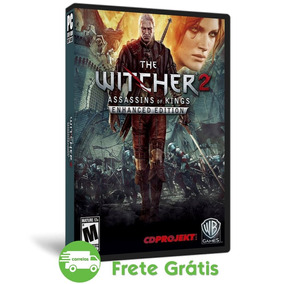 The Witcher 2 Pc Enhanced Edition Mídia Física ( Dvd )