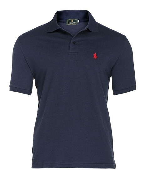 Playera Polo Club - Marino