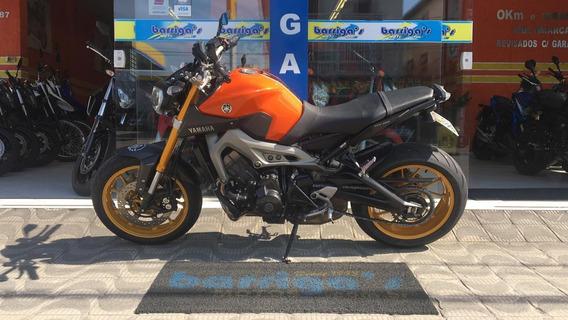 Yamaha Mt 09 Abs 2016 Laranja Segundo Dono