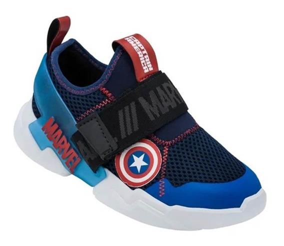 Tênis Infantil Masculino Marvel Capitão América 22193