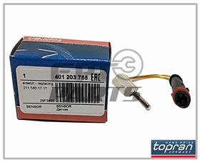 Sensor Pastilha De Freio Mercedes C180  C200  C250  C350