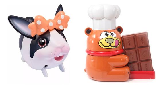 Kit Fondue Maker Kids Chef- Br008 + Au Au Pets Coelho- Br541