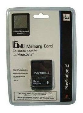 Imagen 1 de 1 de Playstation 2 Tarjeta De Memoria De 16 Mb