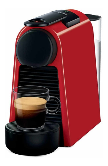 Máquina De Café Nespresso Essenza Mini Roja