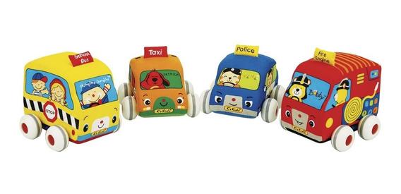 Carrinho De Fricção Pelucia Para Bebê Ks Kids K10459