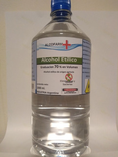 Alcohol Al 70 . Desinfectante .envios A Domicilio Caba