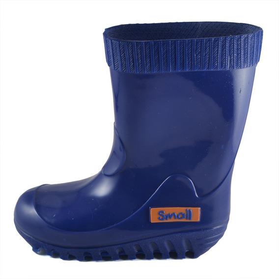 Bota Lluvia Small Shoes Azul Francia