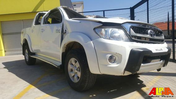 Sucata Toyota Hilux Srv 4x4 3.0 (aut) 2007 - 2008