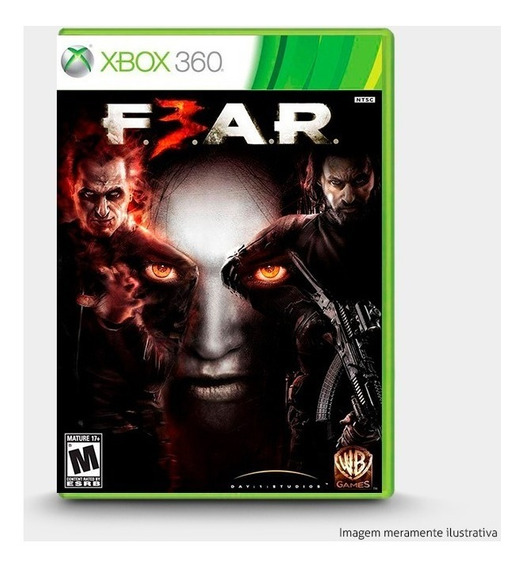 F.e.a.r. Fear 3 - Original Xbox 360 - Novo