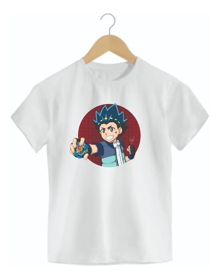Camiseta Infantil Beyblade Mod04